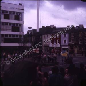 105th Sheffield (High Green) Scouts St. George's Day Parade 1975 (2)