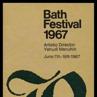Bath Festival at the Theatre Royal, June 1967