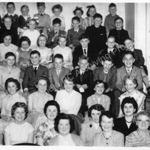 Stoneygate Methodist Chapel Group in the 1950s.