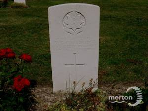 W Couldridge grave