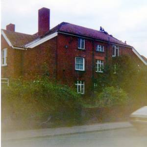 Residential property on a main road into Hereford, c1990