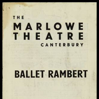 Marlowe Theatre, Canterbury, July–August 1964