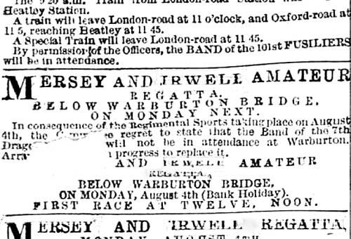 Mersey and Irwell Regatta