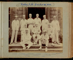 Photograph Album (1898-1905)-014 Cricket XI 1900.jpg