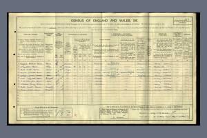 1911 Census - 5 Sibthorp Road, Mitcham