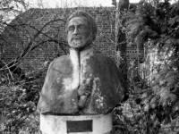 Bust of Emperor Haile Selassie.