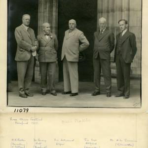 Three Choirs Festival - Elgar & 4 Others, Hereford, 1933