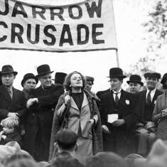Speakers at Jarrow Crusade
