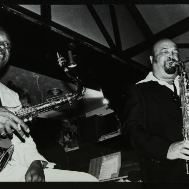 Sonny Stitt and Red Holloway