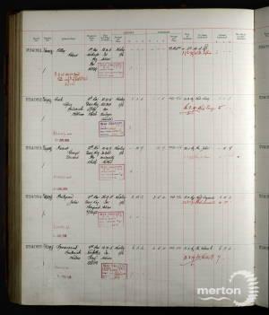 Register of Soldiers' Effects - Sergeant John Pridgeon