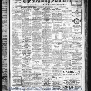 Reading Standard Etc 09-1917