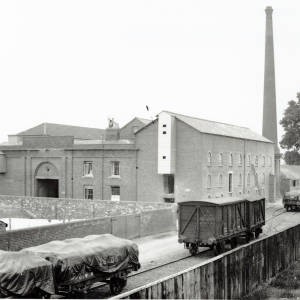 Hereford Imperial Mill and railway sidings, 1903