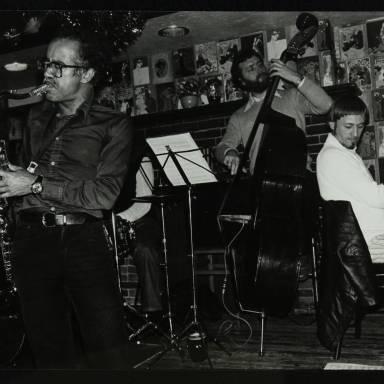 Art Themen, Dave Green and Michael Garrick (left to right)