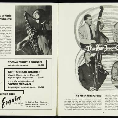 National Jazz Federation Royal Festival Hall - 1955 003