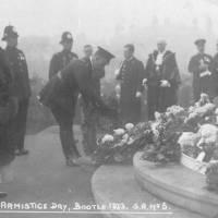 Armistice Day Bootle, 1923
