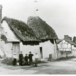 Ancient cottages, Fownhope