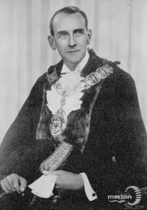 D.L.Reid,  Wimbledon councillor, 1956-58