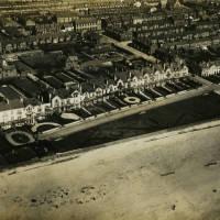 Beach Lawn Aerial View
