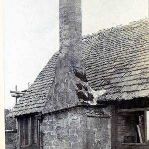 Wellbrook Manor, chimney stack