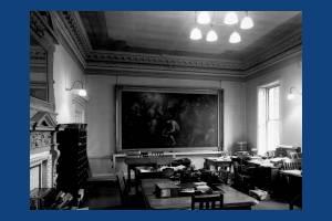 Clerk's General Office, first floor, Morden Park House