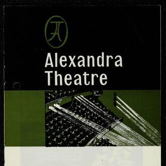 Alexandra Theatre, Birmingham, April 1968