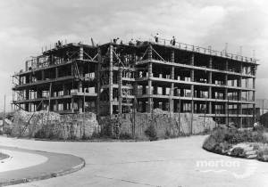 Pollards Hill Estate:  Construction of Westmoreland Square