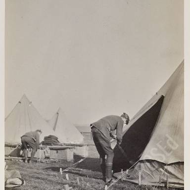 Storing G.S. Panniers in tents
