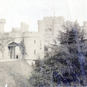 Eastnor Castle, exterior