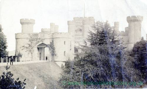 Eastnor Castle, exterior
