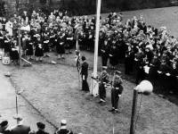 Remembrance Day Service at  Morden