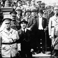 Rudyard Kipling visits Southport with Military and Dignitaries