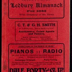 Tilley's Ledbury Almanack 1942