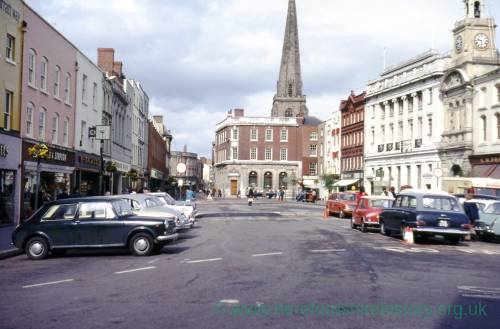High Town, Hereford, 1973