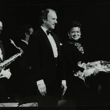 Tommy Whittle, Dennis Lotis and Lita Roza (left to right)