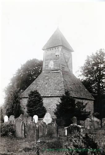 Yarpole church tower