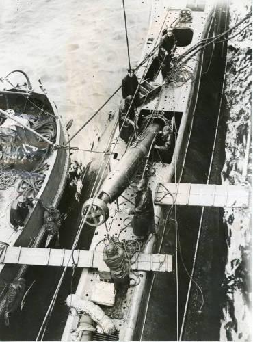 HM Submarine 'Thrasher'