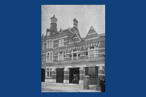 Wimbledon Fire Station, Queens Road