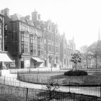 Post office and gardens on Lord Street