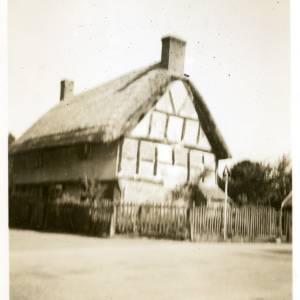 Black and White Cottage at Brampton Bryan