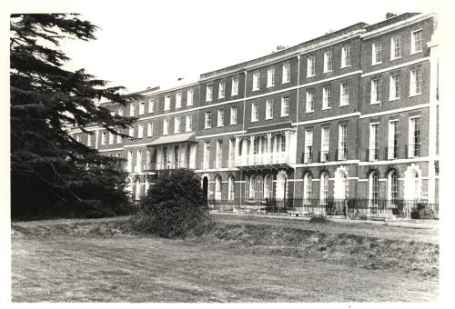Colleton Crescent, c1960, Exeter