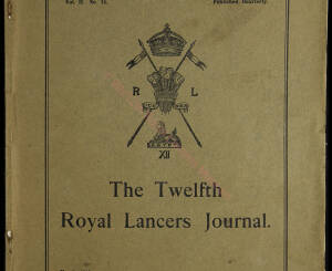 12th Lancers, 1913 March