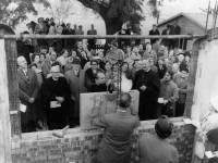Methodist Church, Cricket Green, stone laying ceremony