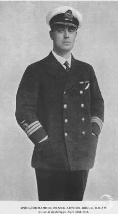 Wing Commander Frank Arthur Brock