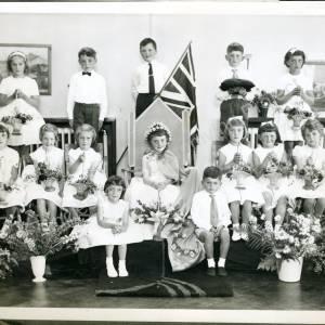 1963. 53rd May Queen Gillian Bullass (a)