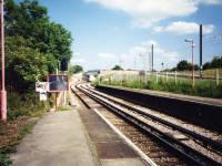 Mitcham Junction Station, showing Croydon Tramlink track
