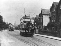 Worple Road, Wimbledon: looking towards Wimbledon
