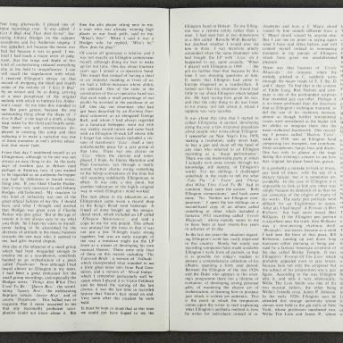 Duke Ellington Orchestra British Tour – February 1967 004