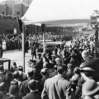 Visit of King George VI & Queen Elizabeth, Bootle, 1938
