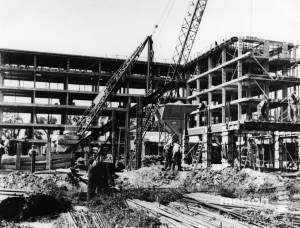 Pollards Hill Estate:  Construction of Maisonette Blocks