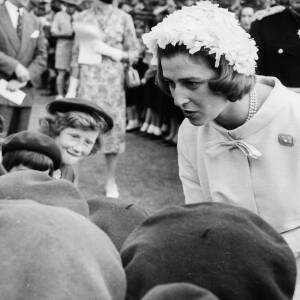 063 - Princess Alexandra talking to Brownies